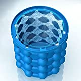 from cocoon break Ice Genie Cube Maker Dual-use Ice Cube Maker Revolutionary Save Space