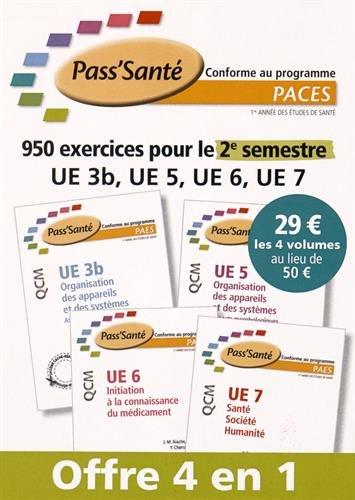 Pack QCM PACES - Semestre 2 (NP)