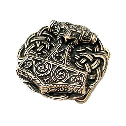 Hebilla Cinturón de martillo de Thor de Schonen
