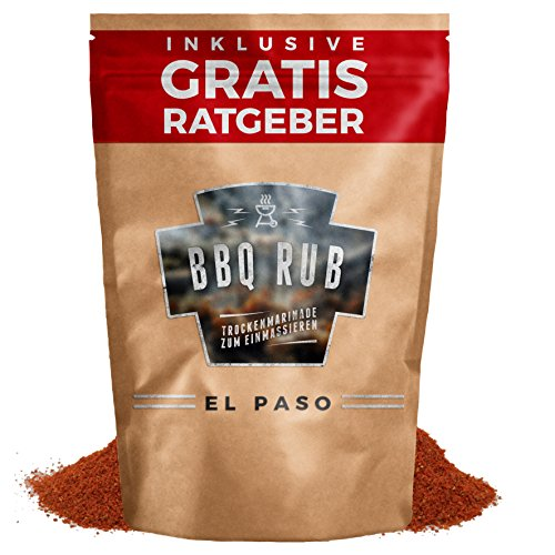 BBQ Rub El Paso 270g | Trockenmarinade für Pulled...