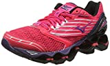MizunoWave Prophecy 5 - Scarpe Running donna, Pink (Diva Pink/Mulberry Purple/Black), 38 1/2