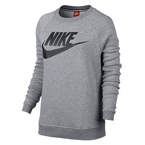 Das Nike Sportswear Modern Damen-Rundhalsshirt, grau, L