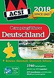 ACSI Campingführer Deutschland 2018: + Benelux-Dänemark-Österreich-Schweiz, 2760 Campingplätze (Hallwag Promobil) -
