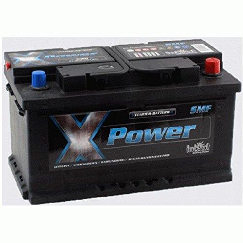 Preisvergleich Produktbild Intact Batterie X80 X-Power 12V 80Ah 670A 4250227553254