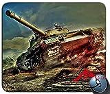 ZMvise British Tank Background Motif Vêtement Populaire Dessin animé Tapis de Souris Siège Coutume Rectangle Jeu Tapis de Souris...