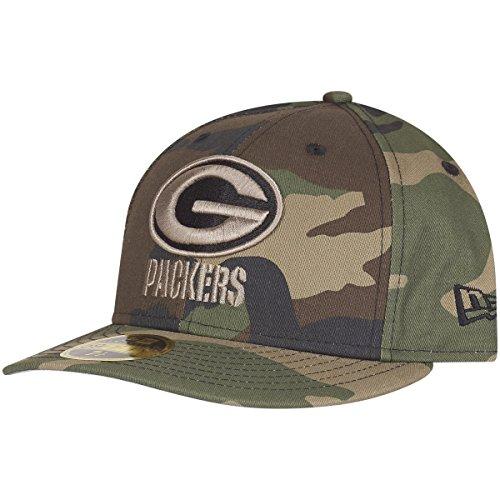 New Era 59Fifty Low Profile Cap Green Bay Packers Wood camo Green Low Profile Cap