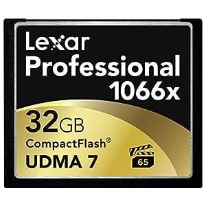Lexar 32GB Professional 1066x CompactFlash CF Speicherkarte UDMA 732G 160MB/s