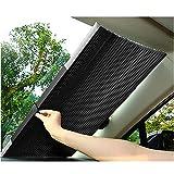 Harddo - Parasole per parabrezza auto, retrattile, protezione solare isolante, adatto per quasi tutte le auto