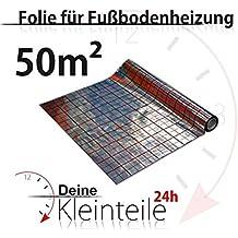 Suelo radiante Calefacción suelo suelo aislamiento–Lámina aislante pantalla ISO, 50qm