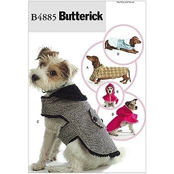 Simplicity s7792.a Muster Kleidung für Hunde Weiß: Amazon.de: Küche ...