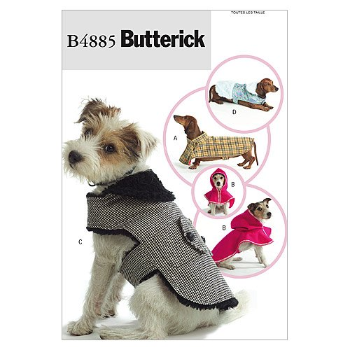 Dog Coats - All Sizes in One Envelope Pattern