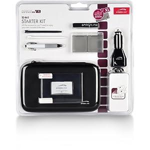 Speedlink Starter Kit 12-In-1 für Nintendo NDSi XL (Tasche, Touch Pens, KFZ-Ladegerät, Schutzfolie, Spielhüllen…