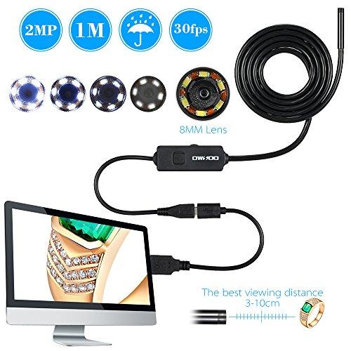 OWSOO-Boroscopio-Endoscopio-USB-20MP-HD-720P-Cmara-Serpiente-6-LED-Inspeccin-de-Tubos-8mm-Lens-IP67-Impermeable-OTG-para-Smartphone-Android-Cable-1m