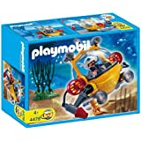 playmobil 4909 jeu de construction sous marin avec explorateurs jeux et jouets. Black Bedroom Furniture Sets. Home Design Ideas