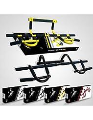 We R Sports - Barra da porta per chin ups pull ups sit up (nera)