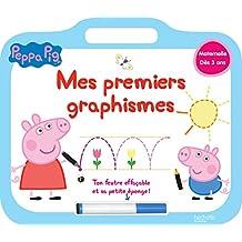 Peppa Pig ardoise Mes premiers graphismes
