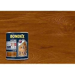 BONDEX - LASURE ULTIM'PROTECT 12 ANS - Peinture Satinée Haute Tenue - Satin - Châtaignier - 1L