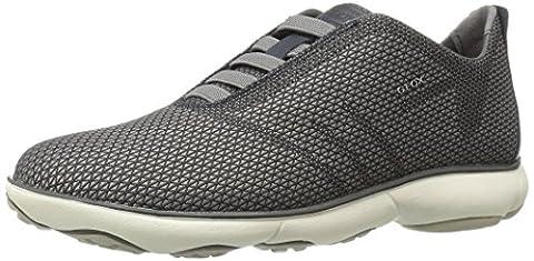 Geox Herren U Nebula B Sneaker, Grau (Black/GREYC0017), 43 EU