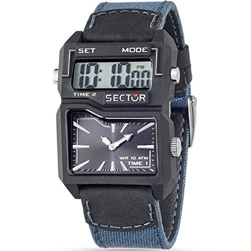 Uhr Dual Time Blue Street Fashion R3251584003 Sektor