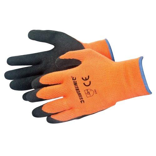 silverline-736809-gants-haute-visibilite-taille-unique-orange