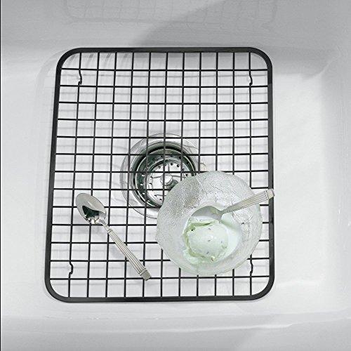 mdesign-grille-devier-protection-evier-pratique-noir-mate-egouttoir-vaisselle-inox-taille-reguliere-