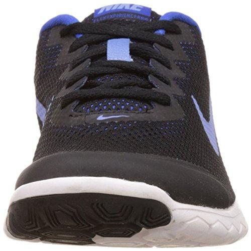Nike Wmns Flex Experience Rn 4, Chaussures de Running Compétition Femme Negro (Black / Chalk Blue-Rcr Bl-White)