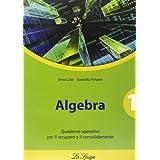 Algebra. Quaderno operativo. Per le Scuole superiori: 1