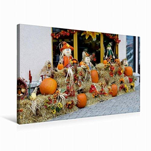 r 31. Oktober ist Halloween-Party 75x50cm, Special-Edition Wandbild, Bild auf Keilrahmen, Fertigbild auf hochwertigem Textil, Leinwanddruck, kein Poster ()