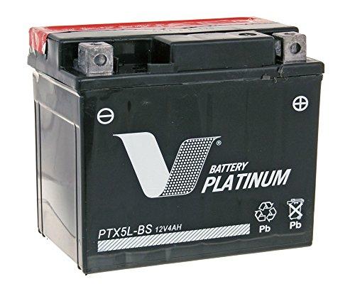 Batería V PLATINUM PTX5L MF-BS sin mantenimiento
