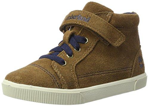 Timberland Unisex-Kinder Abercorn Chukka Boots, Braun (Dark Rubber), 29 EU