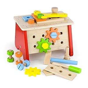 VIGA Toys 51621 - Banco de Trabajo para Mesa