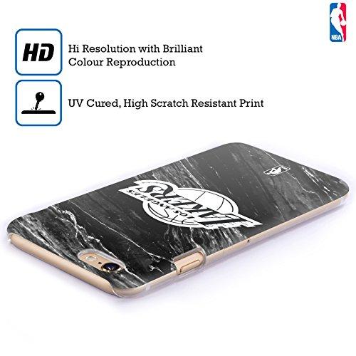 Ufficiale NBA Marmo B&N Los Angeles Lakers Cover Retro Rigida per Apple iPhone 6 / 6s Marmo B&N