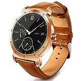 """Pandiki Bluetooth 4.0 Herzfrequenz Klassik 1.3"""" runde Uhr IP54 Wasserdichte Armbanduhr Sport Fitness Tracker-Armband"""
