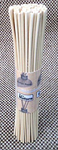Pure Source Reed Sticks 8 Inch 100 Pcs in one bunch to use for reed diffuser oil (100)