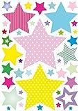 anna wand Wandsticker STARS 4 GIRLS - Wandtat...Vergleich