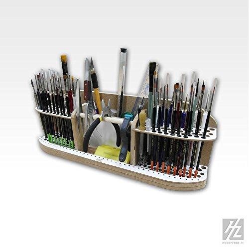 Preisvergleich Produktbild Hobbyzone Großer Pinsel und Werkzeug Halter (Large Brushes and Tools Holder) HZ-PN2