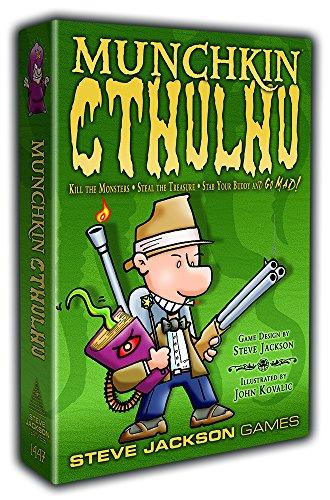 Steve Jackson Games 1447 - Expansión de Cthulhu para juego de cartas Munchkin (en inglés)