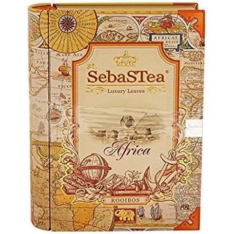 Sebasuti Africa foglia di t? (Rooibos sapore di caramello e vaniglia)
