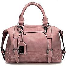 302714f5af Modesty Borse Donna PU Pelle borsa da donna tracolla Grande capacità