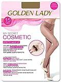 GOLDEN LADY Mysecret 15 Cosmetic Collant, 15 DEN, Trasparente (Melon 001a), Small (Taglia produttore:2 - S) Donna