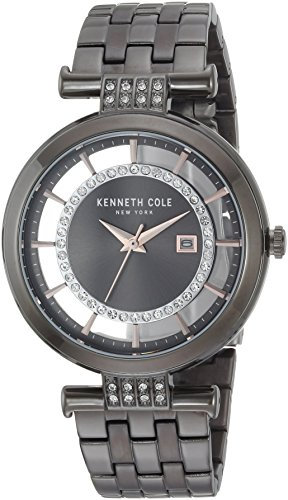 Kenneth Cole New York Womens Analog-Quartz Watch with Stainless-Steel Strap KC15005009