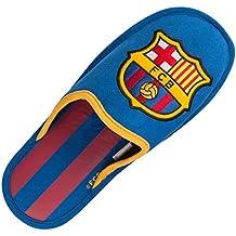 FC Barcelone - Zapatillas del Barça FC para hombre, colección oficial, talla de adulto