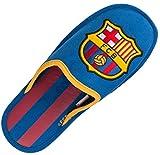 "Herren-Hausschuhe ""Barça"", offizielles Produkt des FC Barcelona, Erwachsenengröße, Blau - blau - Größe: 44"