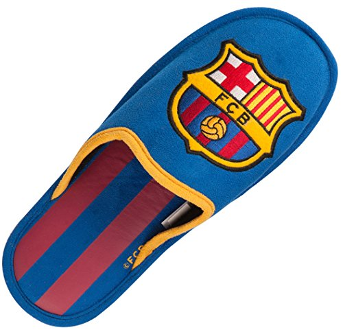 Fc Barcelone Chaussons Barça - Collection Officielle Taille Adulte Homme