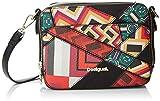 Desigual Bols_graphic Atlas_jasper, Women's Cross-Body Bag, Red (Carmin), 7.5x15x19...
