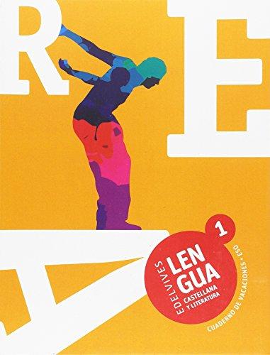Cuaderno de Vacaciones Lengua Castellana y Literatura 1.º ESO (Vacaciones Secundaria) - 9788414008317