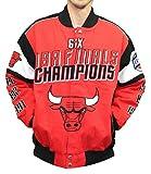 Chicago Bulls G-III NBA Championship Cotton Twill Commemorative Jacket