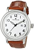 TOM TAILOR Watches Herren-Armbanduhr Analog Quarz Leder 5415203