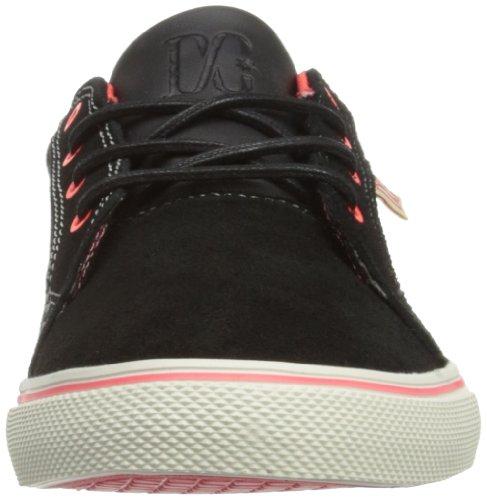 DC Shoes  Council W J Shoe, Baskets basses femme Multicolore - Mehrfarbig (BLK/ATHL RED)