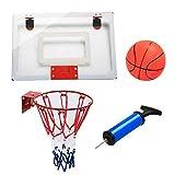 Yaheetech Mini Basketballkorb Basketballring Backboard für Indoor Büro zum hängen